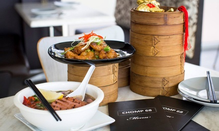 Asian Meal with Tea for Two $39, Four $75 or Six People $110 at Chomp 68 Up to $252 Value