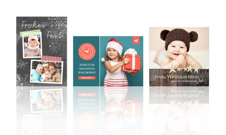 Personalisierte weihnachtskarten groupon goods - Personalisierte weihnachtskarten ...