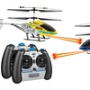 Unbreakable Nano Battle Hercules Laser Tag RC Helicopter (2-Pack)