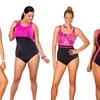 Aquabelle Plus-Size 1-Piece Swimsuits