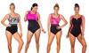 Aquabelle Plus-Size 1-Piece Swimsuits: Aquabelle Plus-Size 1-Piece Swimsuits. Multiple Styles Available.