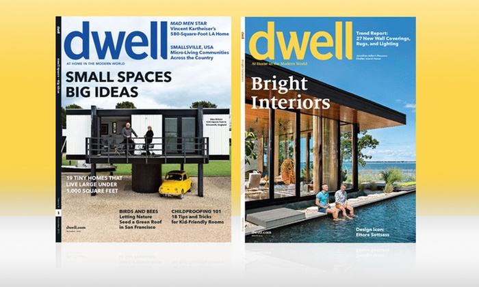 1- or 2-Year Dwell Magazine Subscription: 1- or 2-Year Dwell Magazine Subscription; from $10–$16