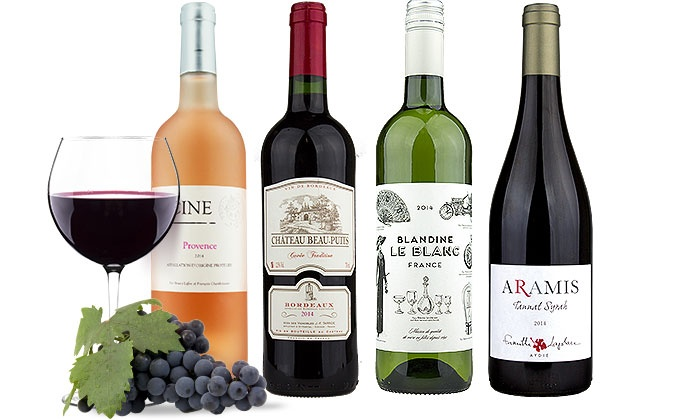 Heartwood & Oak: $40 for 4 Bottles of Award-Winning French Wine from Heartwood & Oak ($112.96 Value)