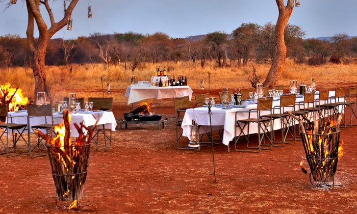 Jaci's Lodges - North West Province: Madikwe Game Reserve: Stay for Two Including Dinner, Brunch and Morning Game Drives at Jaci's Lodges