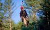 The Beanstalk Journey - Morganton: $58.99 for a Zipline Experience for Two at The Beanstalk Journey ($138 Value)
