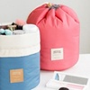 Cylindrical Travel Cosmetic Bag