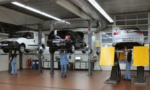 Automobil AG: Klimaanlagenwartung für alle Automarken inkl. Teilnachfüllung, opt. m. Sicherheitscheck, bei Automobil AG (80% sparen*)