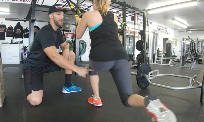 Marcus Perry Fitness - Lowell: Three Personal Training Sessions at Marcus Perry Fitness  (68% Off)