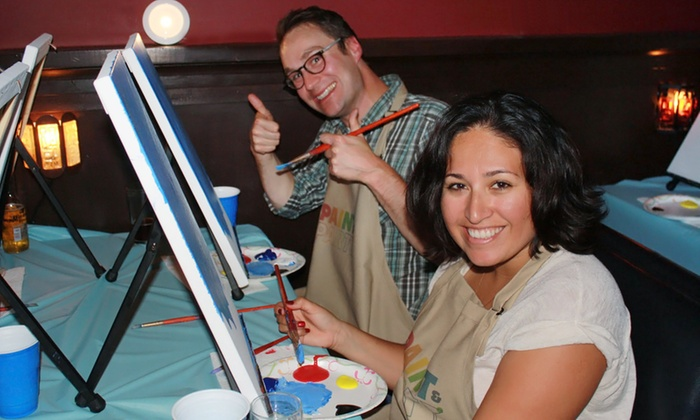 Paint and Party - San Francisco: Painting Class for One or Two at Paint and Party (29% Off)