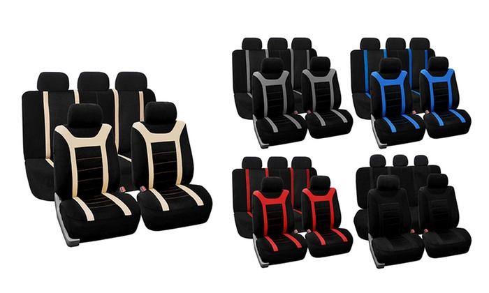 Sports Seat Cover Set 3 Piece
