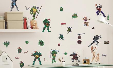 Teenage Mutant Ninja Turtles Wall Stickers