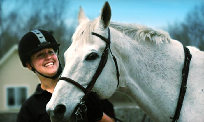Journey's Haven Riding School - Rehoboth: Private Pony Pal Lesson, or One or Two Private Horseback-Riding Lessons at Journey's Haven Riding School (Up to 54% Off)