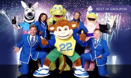Pontins: 3Night New Year Break Stay for Up to Four with Activities and Live Entertainment at Choice of Holiday Parks