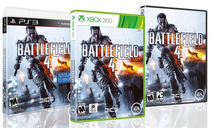 Battlefield 4 for PS3, Xbox 360, or PC: Battlefield 4 for PS3, Xbox 360, or PC. Free Shipping and Returns.