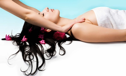 $36 for 70-Minute Massage with Aromatherapy Lavender Oil Treatment at Harmony Day Spa ($65 Value)