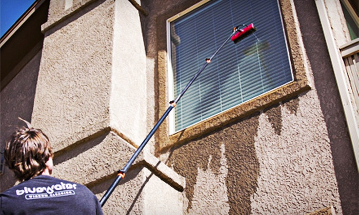 Bluewater Window Cleaning - Colorado Springs: Up to 200 Feet of Gutter Cleaning or $40 for $100 Worth of Window Cleaning from Bluewater Window Cleaning