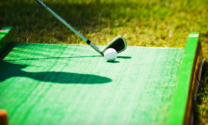 Aloha Falls Miniature Golf - Libertyville: Miniature-Golf Outing for Two or Four at Aloha Falls Miniature Golf in Libertyville (Up to 53% Off)