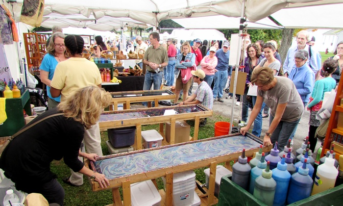Artrider Productions Inc - Dutchess County Fairground: Rhinebeck Arts Festival Visit for Two or Four from Artrider Productions Inc (50% Off)