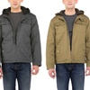 Urban Republic Men's Hooded Twill Jacket with Faux-Fur Lining