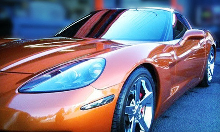 Audio House of Napa CA - Soscol: Window Tinting for a Two-Door Car or Four-Door Car, SUV, or Truck at Audio House of Napa CA (Up to 77% Off)
