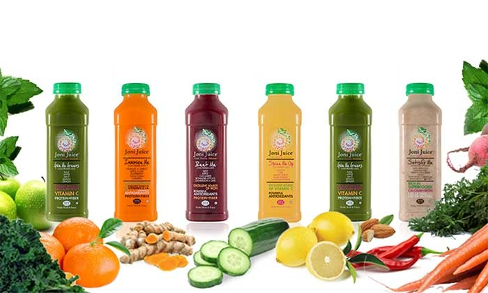 Joni Juice: One-, Three-, or Five-Day Juice Cleanse from Joni Juice (34% Off)