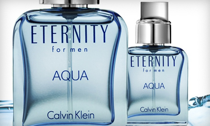 Calvin Klein Eternity Aqua Men's Cologne: $19 for Calvin Klein Eternity Aqua Men's Cologne ($32 Value)