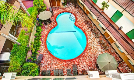 Stay at Dunes Inn Wilshire in Los Angeles, CA. Dates into December.