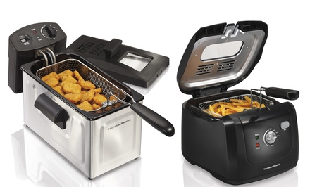 Hamilton Beach Cool Touch or Professional Deep Fryers