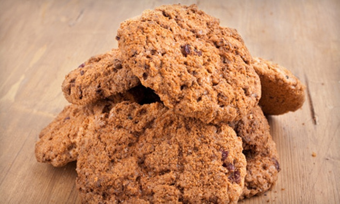 Red Tin Homemade Cookies - Salem: 2, 4, or 10 Dozen Homemade Cookies with Delivery from Red Tin Homemade Cookies (Up to 54% Off)