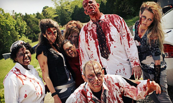 Zombie Survival Dash - Robertsville: Zombie-Themed Events with Optional 5K Entry at the Zombie Survival Dash on Saturday, October 27 (Up to 53% Off)