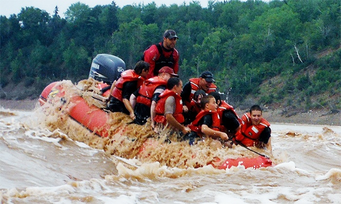 for River Rafting Trip for Two at Fundy Tidal Bore Adventures ( Value). Choose from 19 Dates.