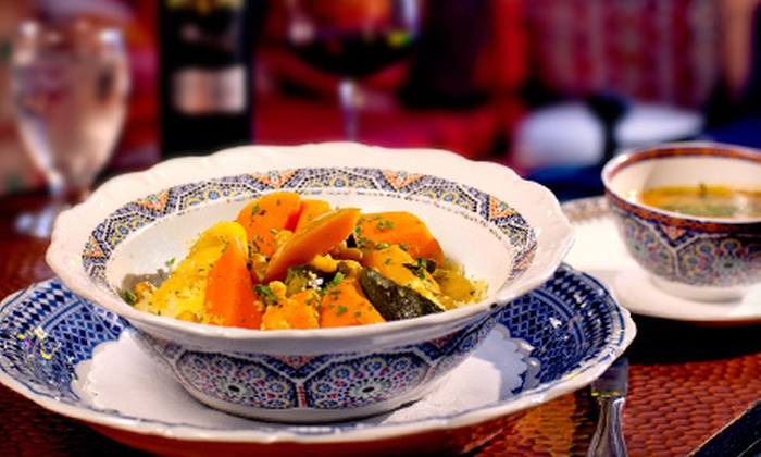 Zitoune - Mamaroneck: Moroccan Cuisine Sunday–Friday or Saturday at Zitoune (Up to 56% Off)