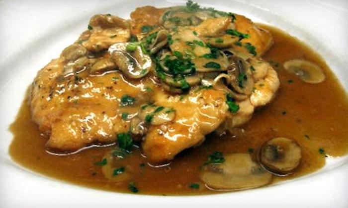 Rovezzi's Ristorante - Fiskdale: Italian Food at Rovezzi's Ristorante (Up to 54% Off). Two Options Available.
