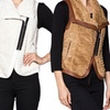 Women's Faux Fur Zipper Vest