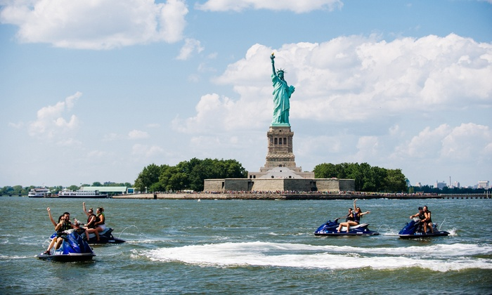 Skyline Jet Ski Tours - Staten Island: 60- or 90-Minute Jet Ski Tour for Two or Four at Skyline Jet Ski Tours (Up to 34% Off)