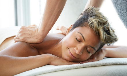 Full Body Massage with Optional Oxygen Facial or Upper Body Massage with Manicure or Pedicure at The Beauty Lounge