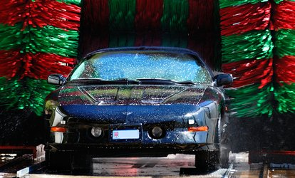 image for Three or Six vouchers, Each Good for One Ultra Shine Car Wash with Rain-X at Mr. Bubble Auto Spa (Up to 54% Off)