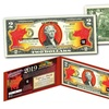 2019 Chinese New Year Red Hologram Two-Dollar Bill Collectible