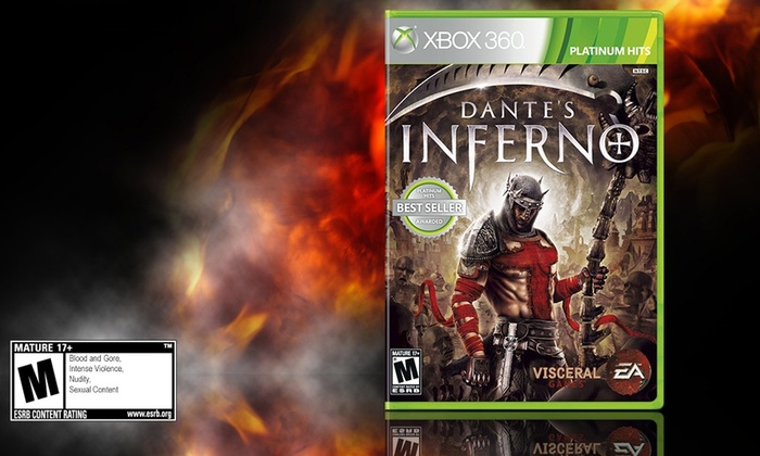 Dante's Inferno for Xbox 360: Dante's Inferno for Xbox 360. Free Shipping.