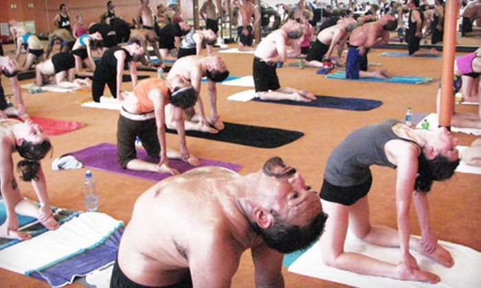 Bikram Yoga North Texas - Multiple Locations: $ 24 for One Month of Unlimited Yoga Classes at Bikram Yoga North Texas ($ 49 Value)