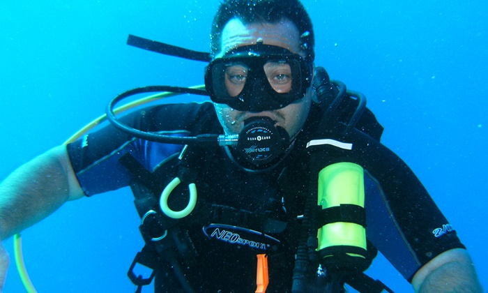 Just Add H20 - Bridgman High School Pool: Discover Scuba Introductory Course at Just Add H2O (62% Off)