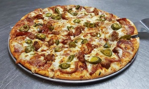 Boss' Pizza & Chicken: Pizza and Chicken at Boss' Pizza & Chicken in South Minneapolis (Up to 28% Off)