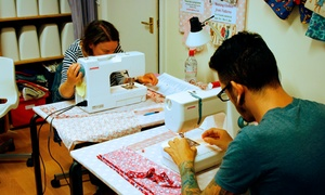 Sew In Brighton: Sewing and Cushion or Bag Making Workshop for £24.95 at Sew in Brighton (60% Off)
