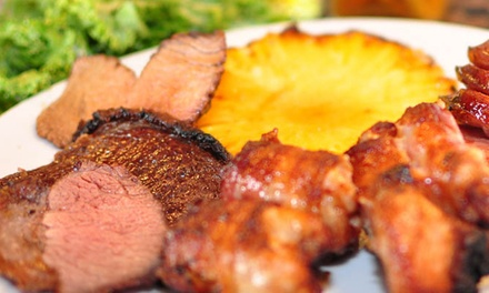 $9 for $20 Worth of Brazilian Food and Drinks at Braza Grill