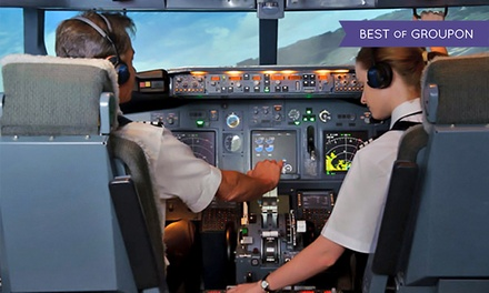 30- or 60-Minute Flight-Simulator Session at Flight Experience (Up to 54% Off)