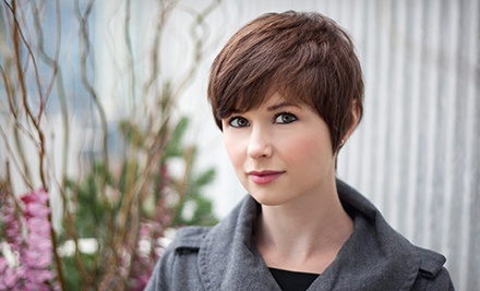 Haircut Package with Optional Partial Highlights or Lowlights from Terri Rankin at Simply Gorgeous (Up to 52% Off)