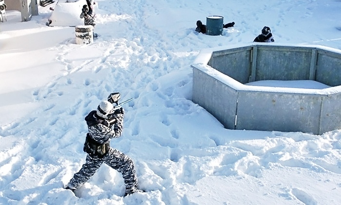 Karters Korner - Stittsville - Richmond: Paintball Package with Paintballs, Masks, and Markers for 12, 16, or 20 at Karters' Korner (Up to 50% Off)