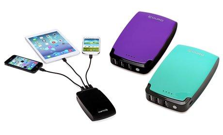Aduro PowerUp 11,000Mah Portable Backup Battery Charger