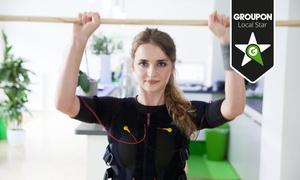 Slim Gym Club: 3 oder 5 EMS-Trainingseinheiten mit Körperanalyse, Sportbekleidung und Getränken im Slim-Gym Club (bis zu 73% sparen*)