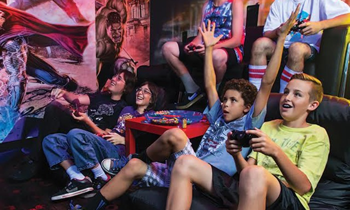 Gamer Cave  - UltraStar Multi-tainment Center at Ak-Chin Circle: $49.99 for Two Hours of Gaming with Soft Drinks for Up to 12 at Gamer Cave ($100 Value)